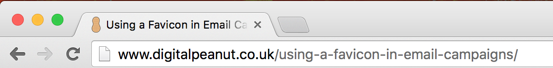 example favicon