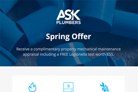 ASK Plumbers email