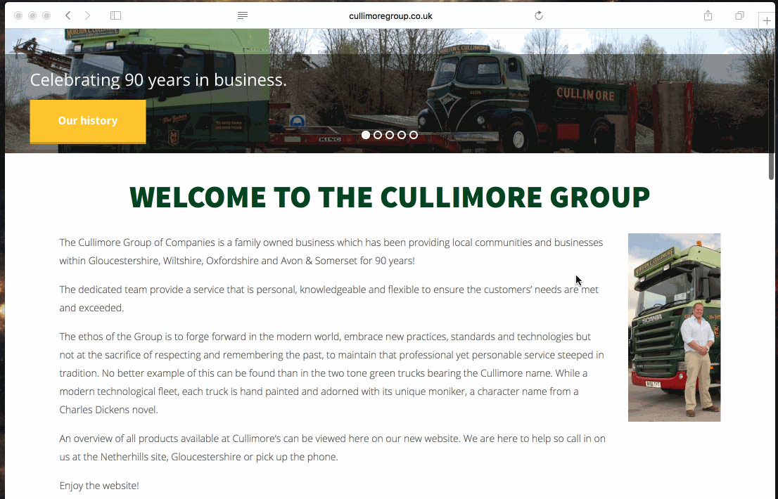 Cullimore screenshot